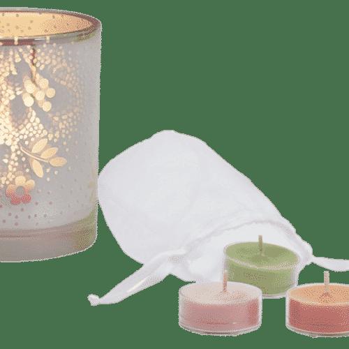 Teelichthalter PartyLite Blüten Illusion