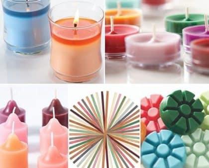 Kerzensortiment von PartyLite