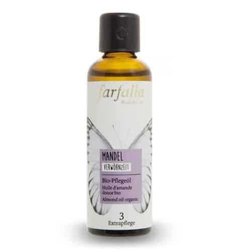 Mandelöl Biopflege-Öl von Farfalla für die tägliche Pflege