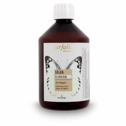 Argan Bio-Pflegeöl in der Sparflasche von Farfalla
