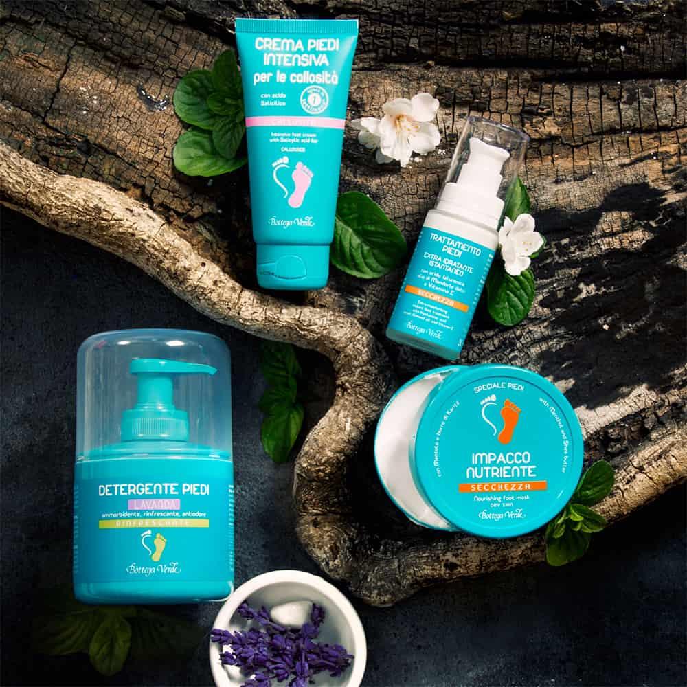 Fusspflege-Produkte von Bottega Verde