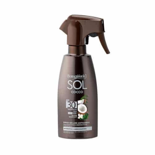 SOL Cocco-Sonnenschutz-Spray LSF30 von Bottega Verde