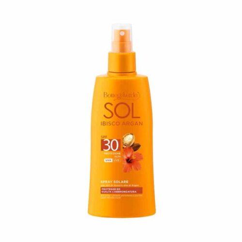 SOL Sonnenschutzspray mit Arganöl LSF30 von Bottega Verde