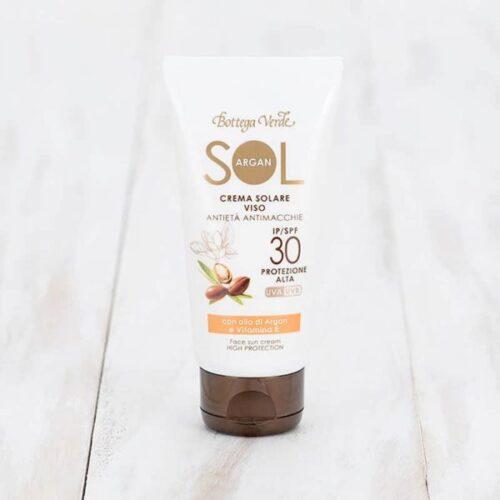 Gesichts-Sonnenschutz mit Arganöl LSF30 von Bottega Verde