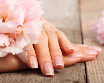 Schöne, gepflegte und geschmeidige Hände