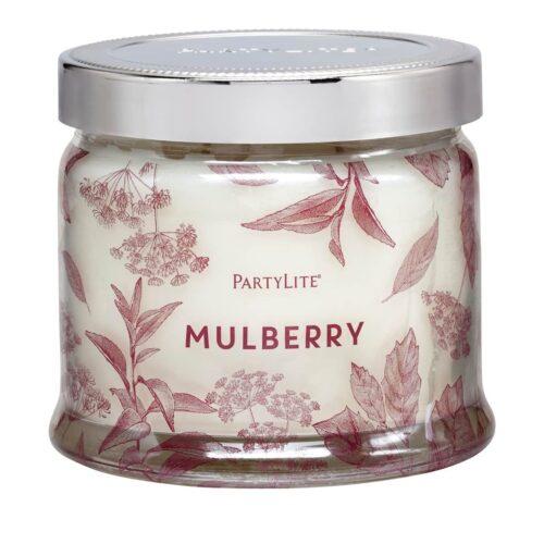Maulbeere 3-Docht-Duftkerze PartyLite