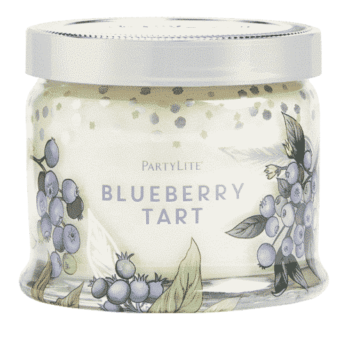 Blueberry Tart 3-Docht-Duftkerze von PartyLite
