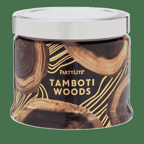 Tamboti-Woods 3-Docht-Duftkerze PartyLite