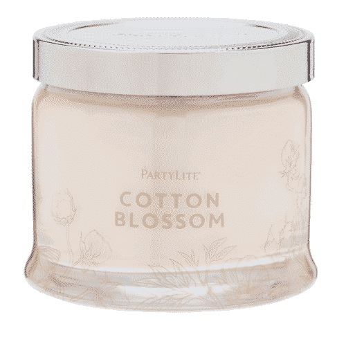 Cotton-Blossom 3-Docht-Kerze PartyLite