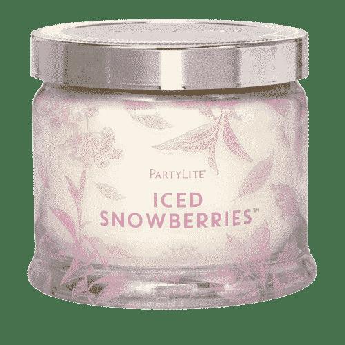 Eisfrüchte 3-Docht-Duftkerze PartyLite