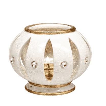 Opulent PartyLite-Teelichthalter mit Swarovski-Steinen