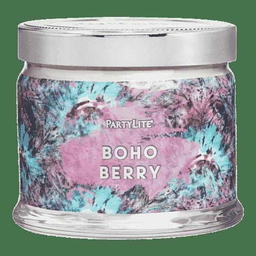 Boho-Berry 3-Docht-Duftkerze PartyLite