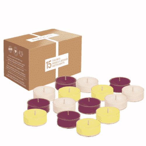 Teelicht-Box Classics PartyLite mit 15 Stück