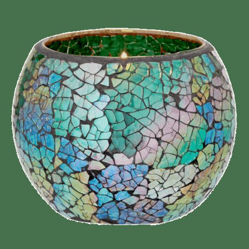 Schillerndes-Smaragdgrün PartyLite Duftlampe