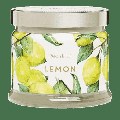 Zitrone 3-Docht-Duftkerze PartyLite