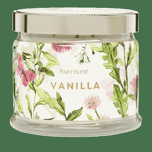 Vanille 3-Docht-Duftkerze PartyLite
