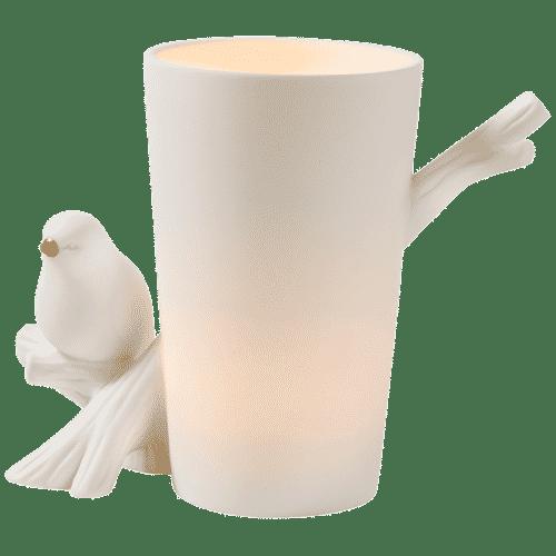 Teelichthalter Votivkerzenhalter PartyLite Vogelgezwitscher