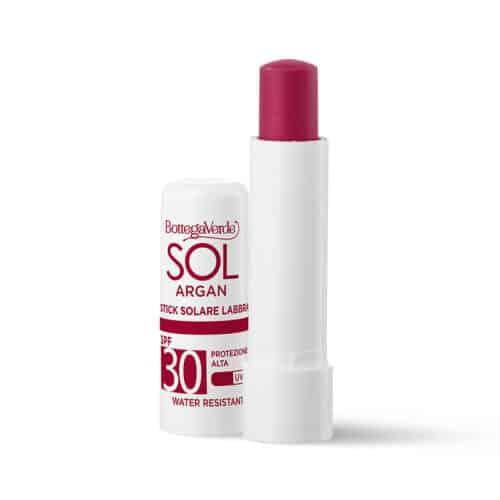 SOL Argan Lippenstift Rot LSF30 mit Arganöl von Bottega Verde