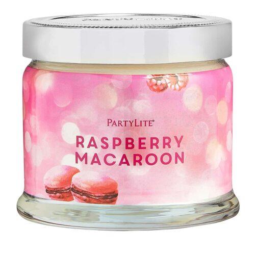 Raspberry Macaroon 3-Docht-Duftkerze PartyLite