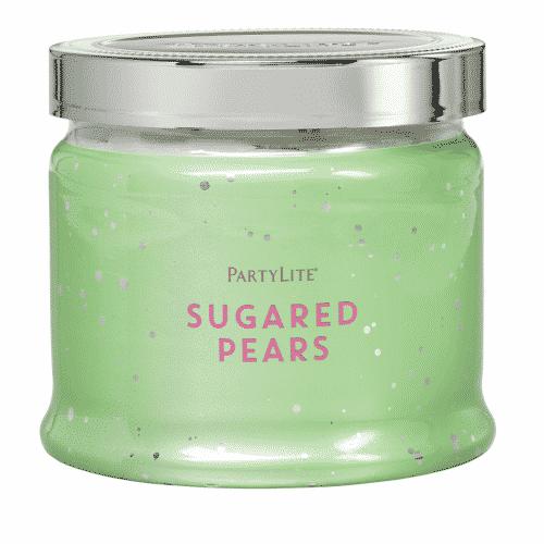 Sugared-Pears 3-Docht-Duftkerze PartyLite