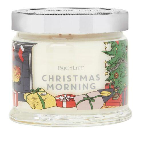Christmas-Morning 3-Docht-Duftkerze PartyLite