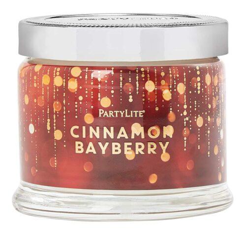 Cinnamon & Bayberry 3-Docht-Duftkerze PartyLite