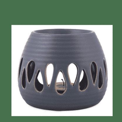Aroma-Duftlampe Simple-blau für ätherische Öle