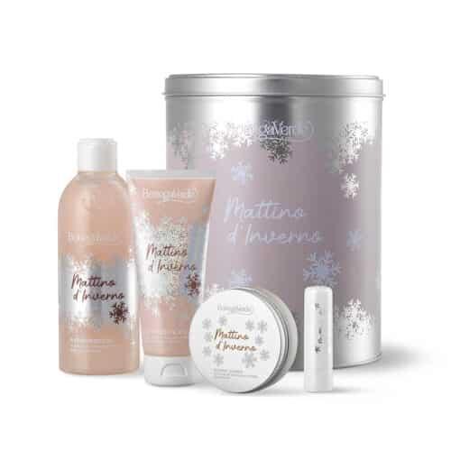 Wintermorgen-Pflege-Geschenkbox von Bottega Verde